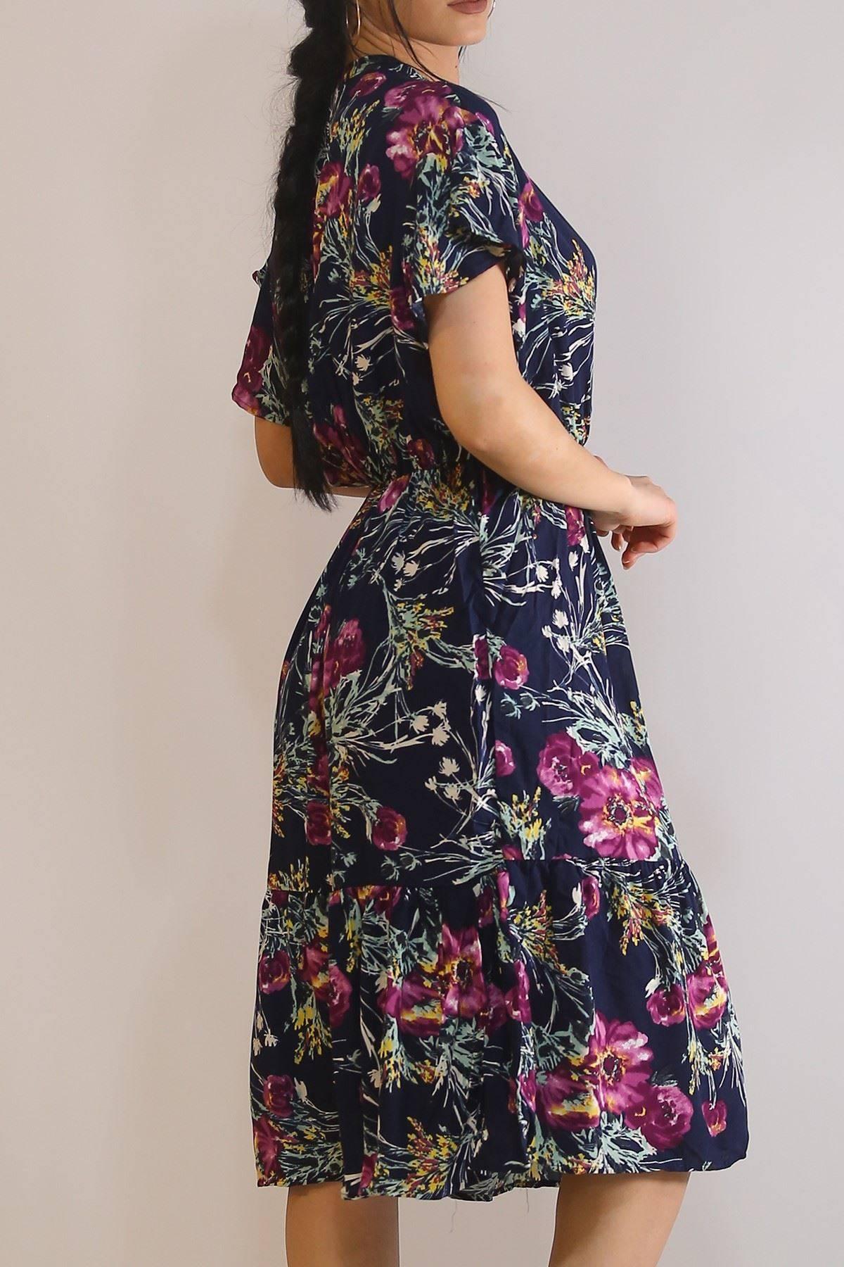 Kruvaze Yaka Elbise Lacimor - 5372.701.