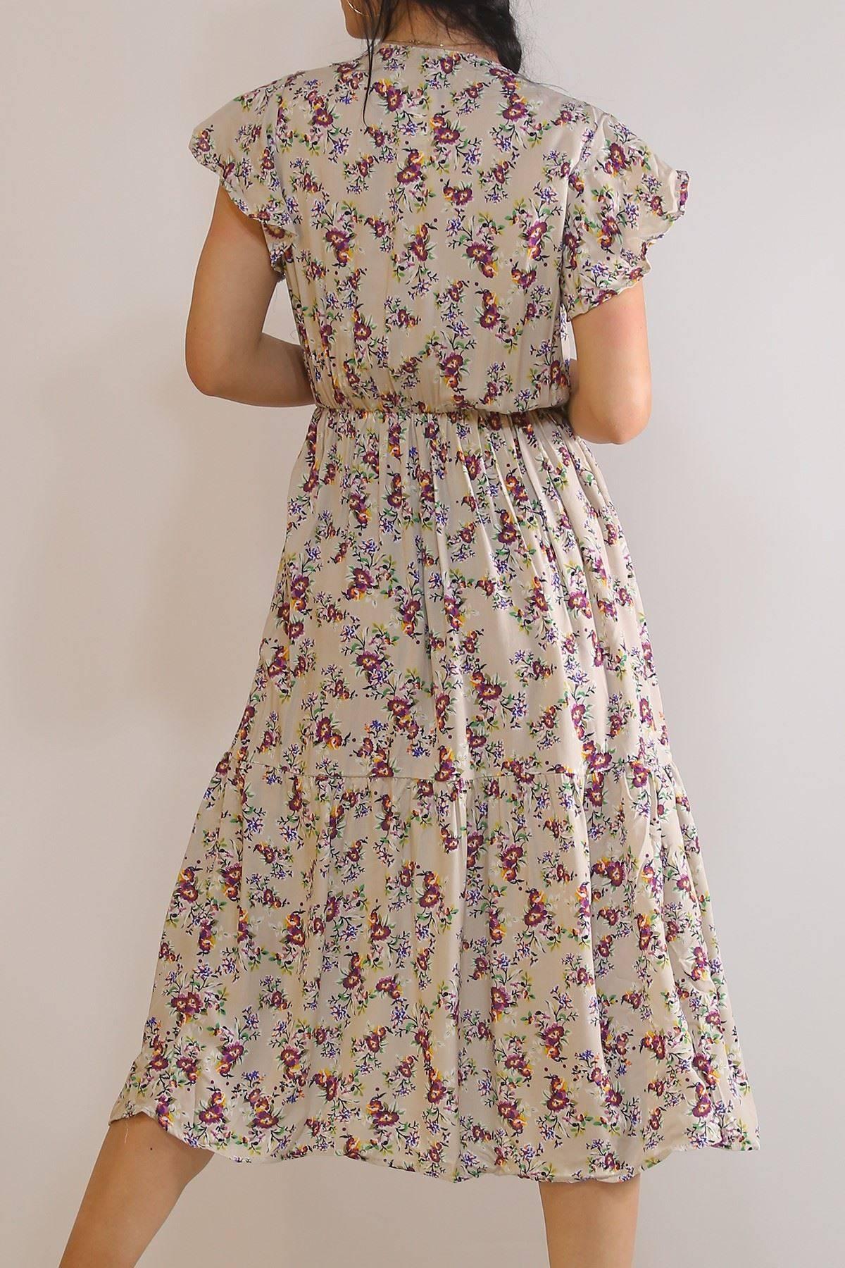 Kruvaze Yaka Elbise Taşmor - 5372.701.