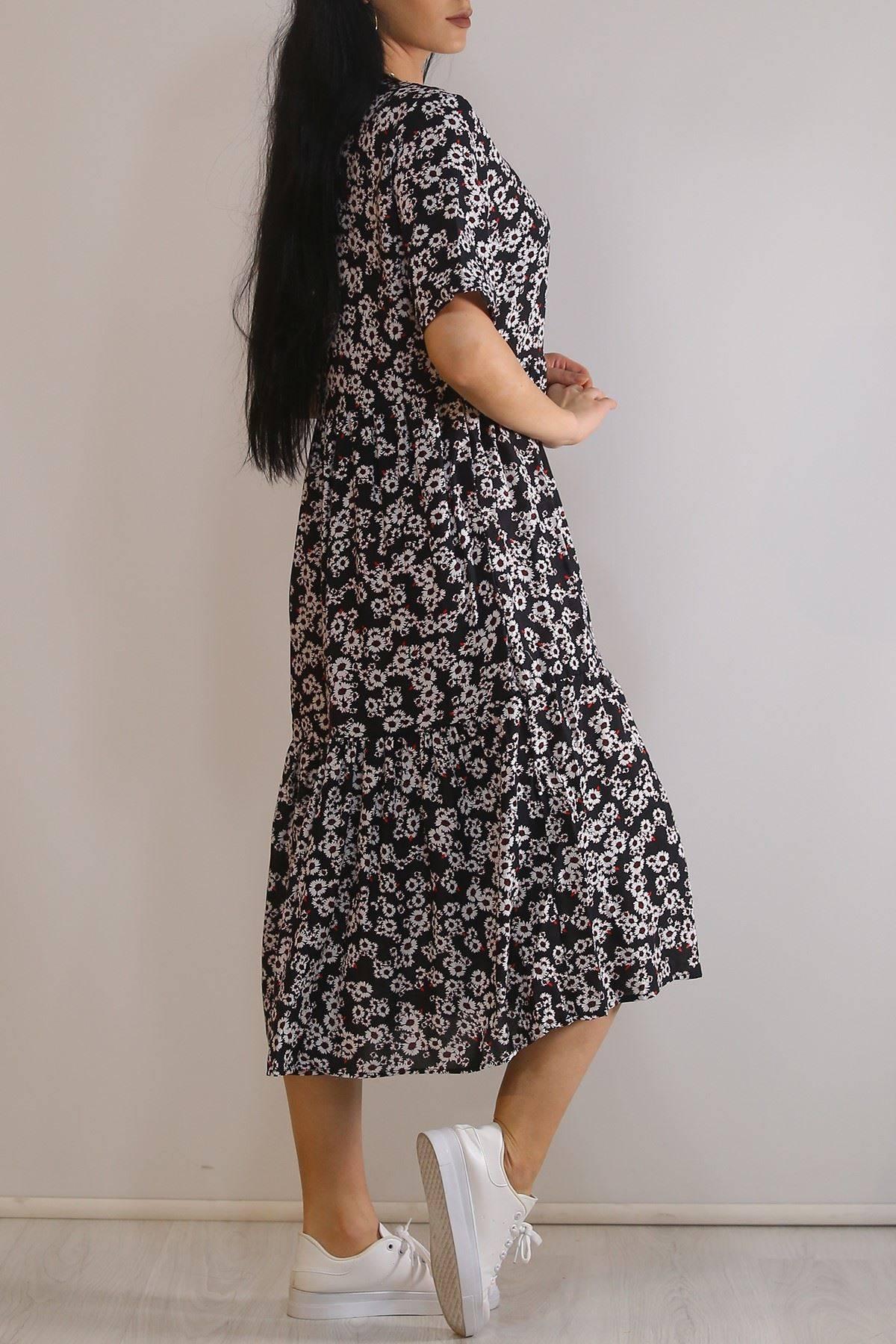 Dokuma Elbise Siyahbeyaz - 5990.701.