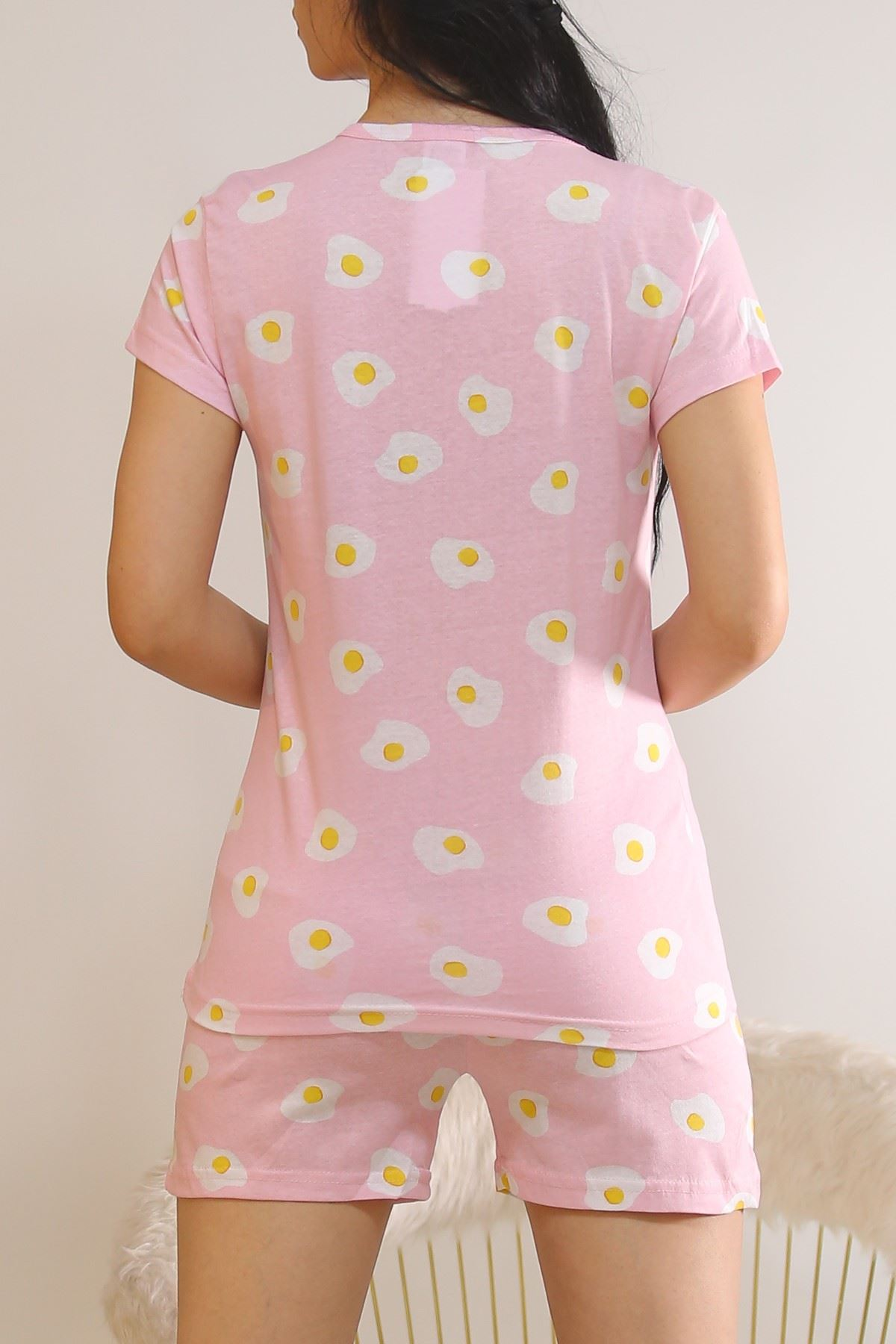 Şortlu Pijama Takımı Pembe1 - 5995.1287.