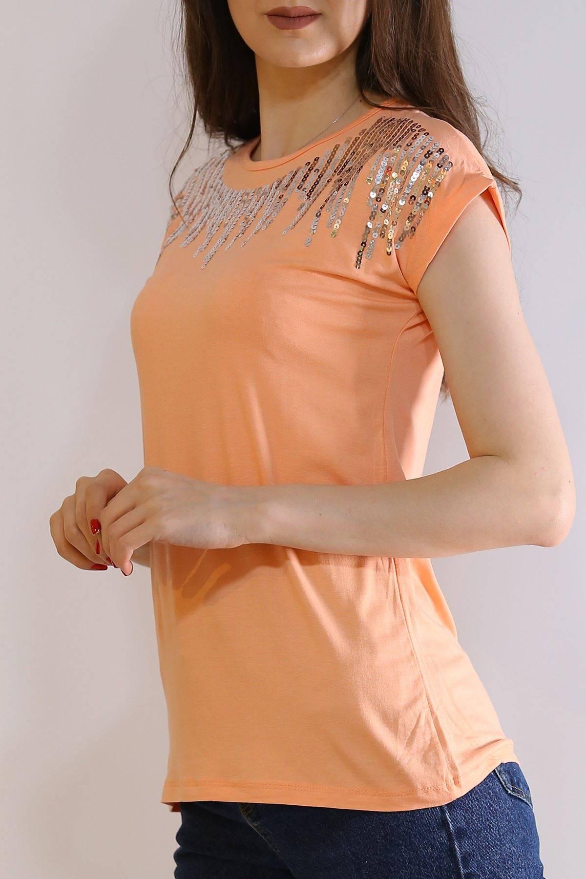 Pullu Tişört Yavruağzı - 6007.139.