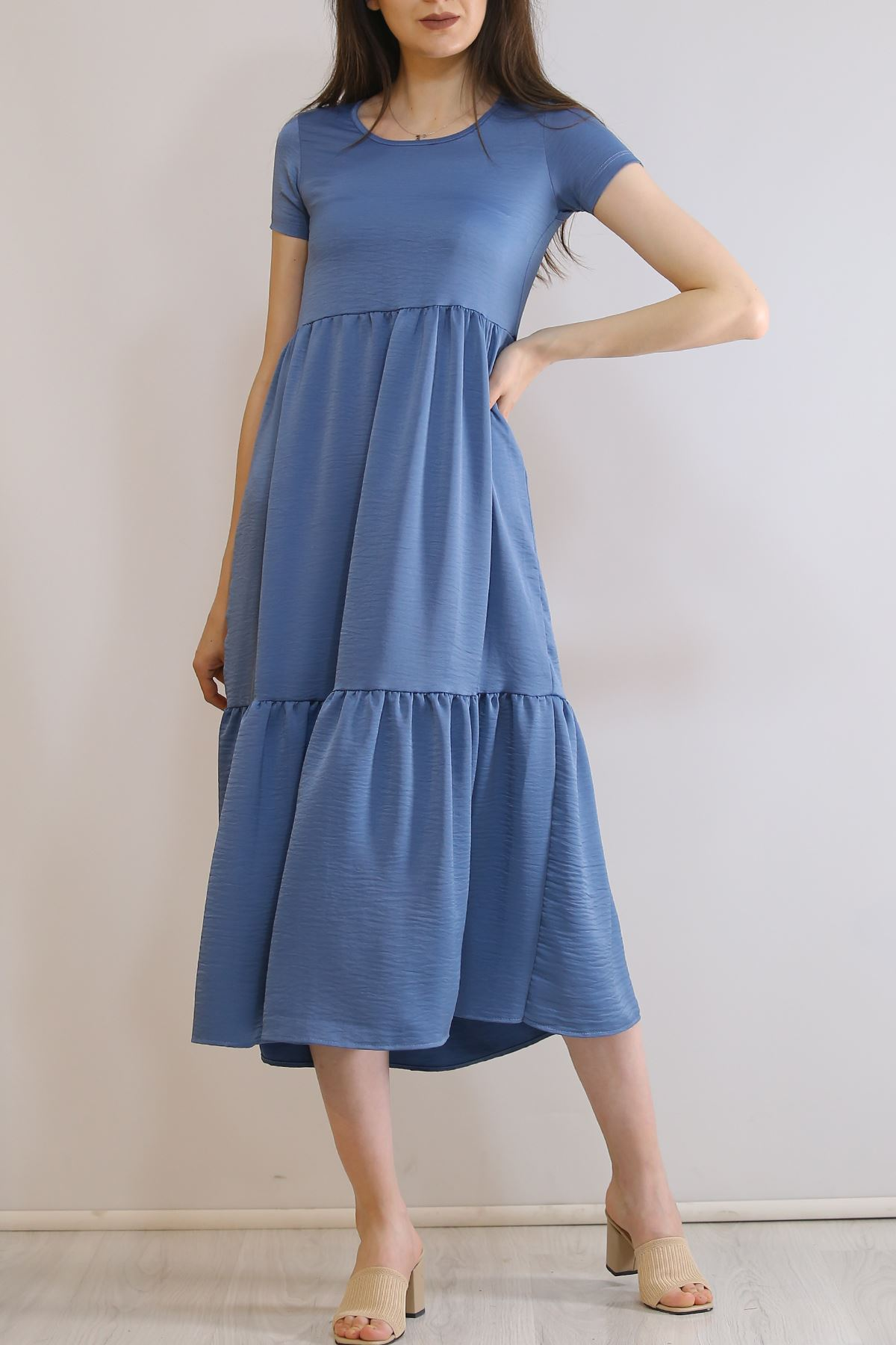 Ayrobin Elbise İndigo - 6023.1247.