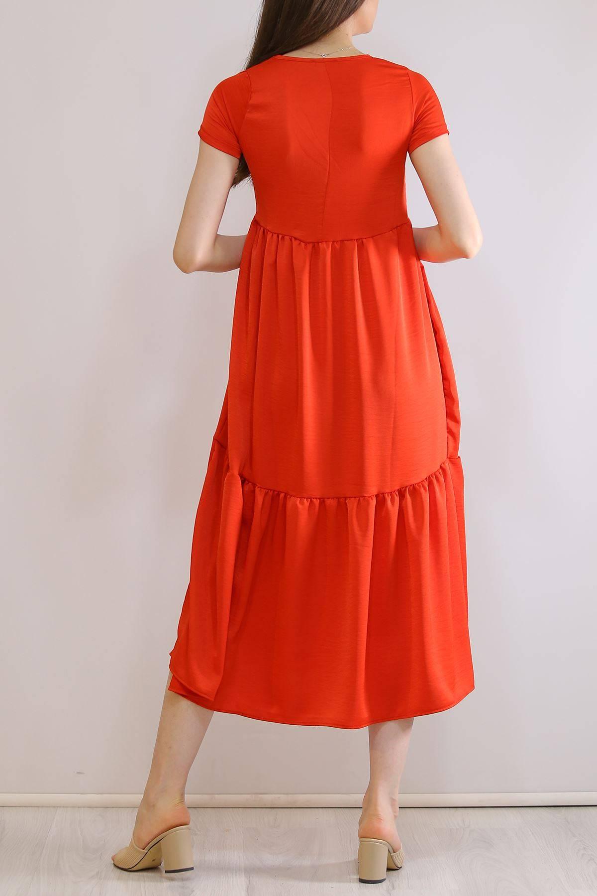 Ayrobin Elbise Kırmızı - 6023.1247.