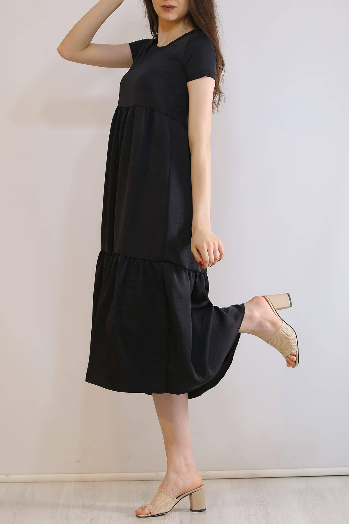 Ayrobin Elbise Siyah - 6023.1247.