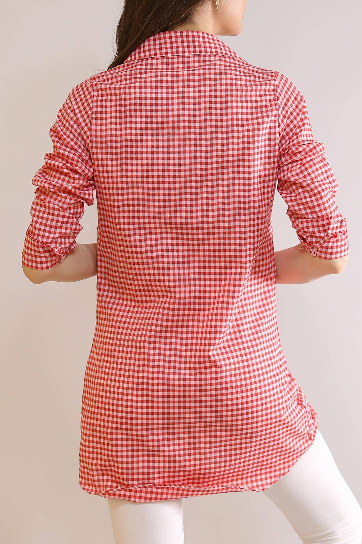 Tunik Gömlek Kırmızı1 - 5905.1376.