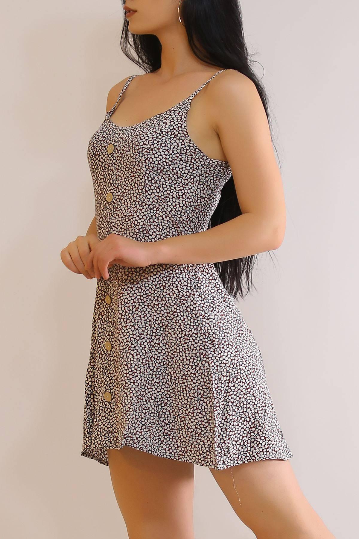 İp Askılı Elbise Siyah - 6079.1153.