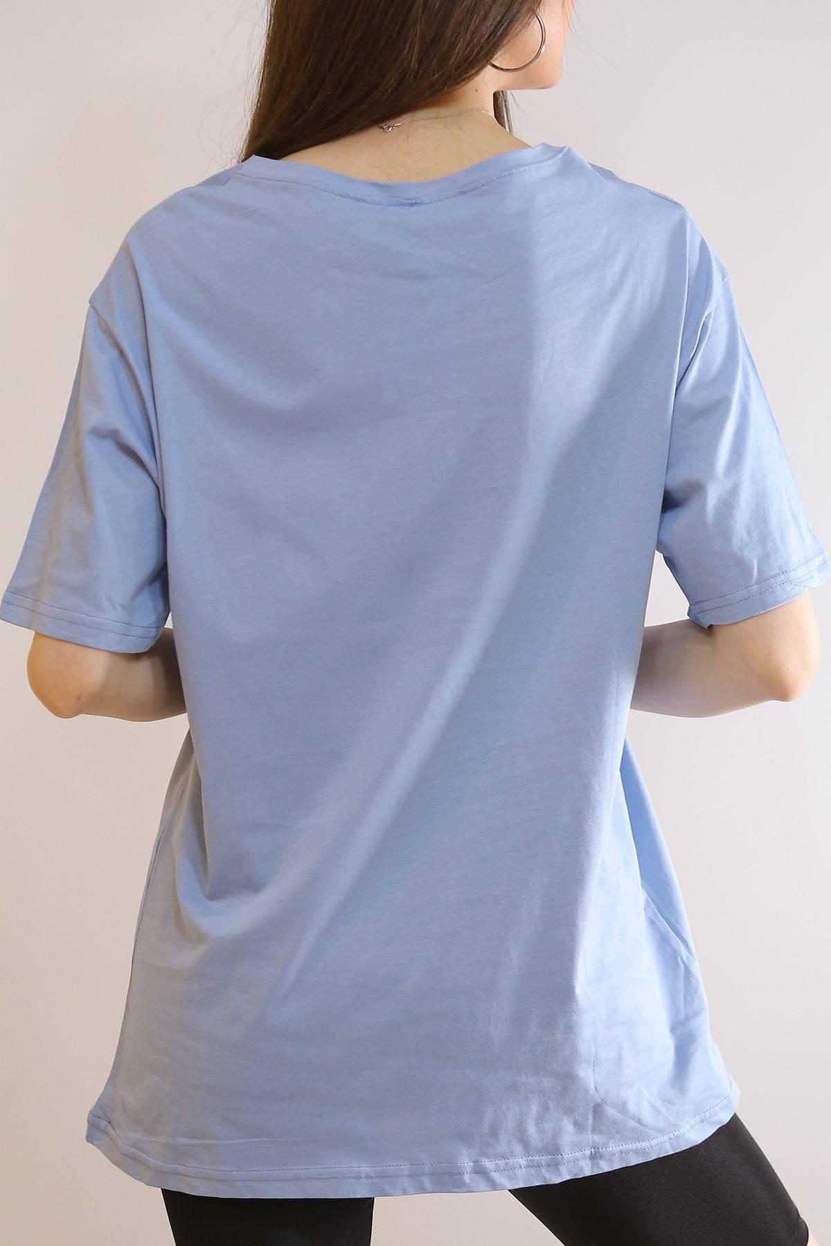 Baskılı Tişört Bebemavi - 6069.1247.