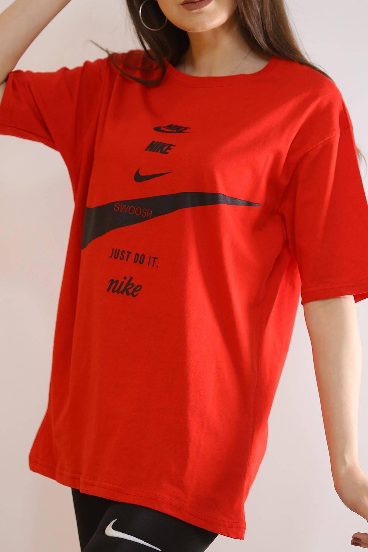 Baskılı Tişört Kırmızı - 6069.1247.