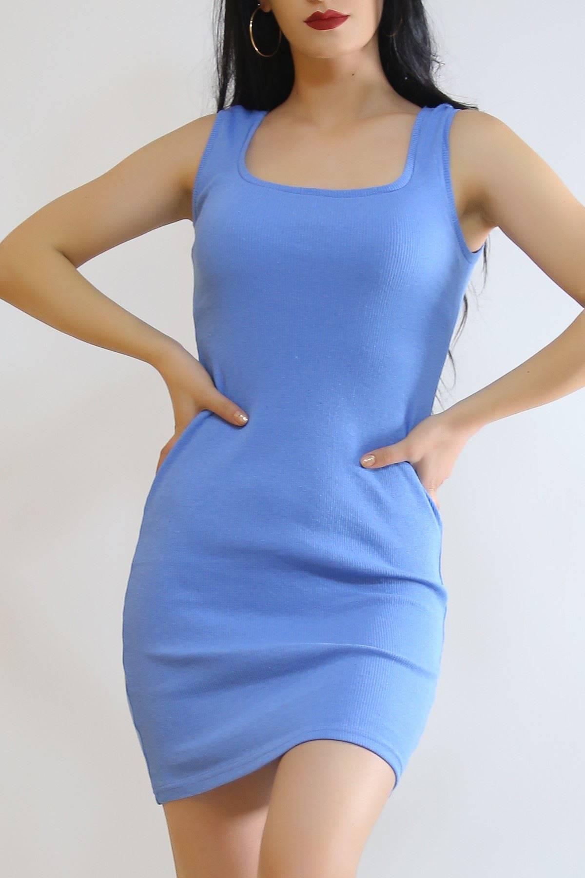 Kaşkorse Sıfır Kol Elbise Bebemavi - 5188.316.