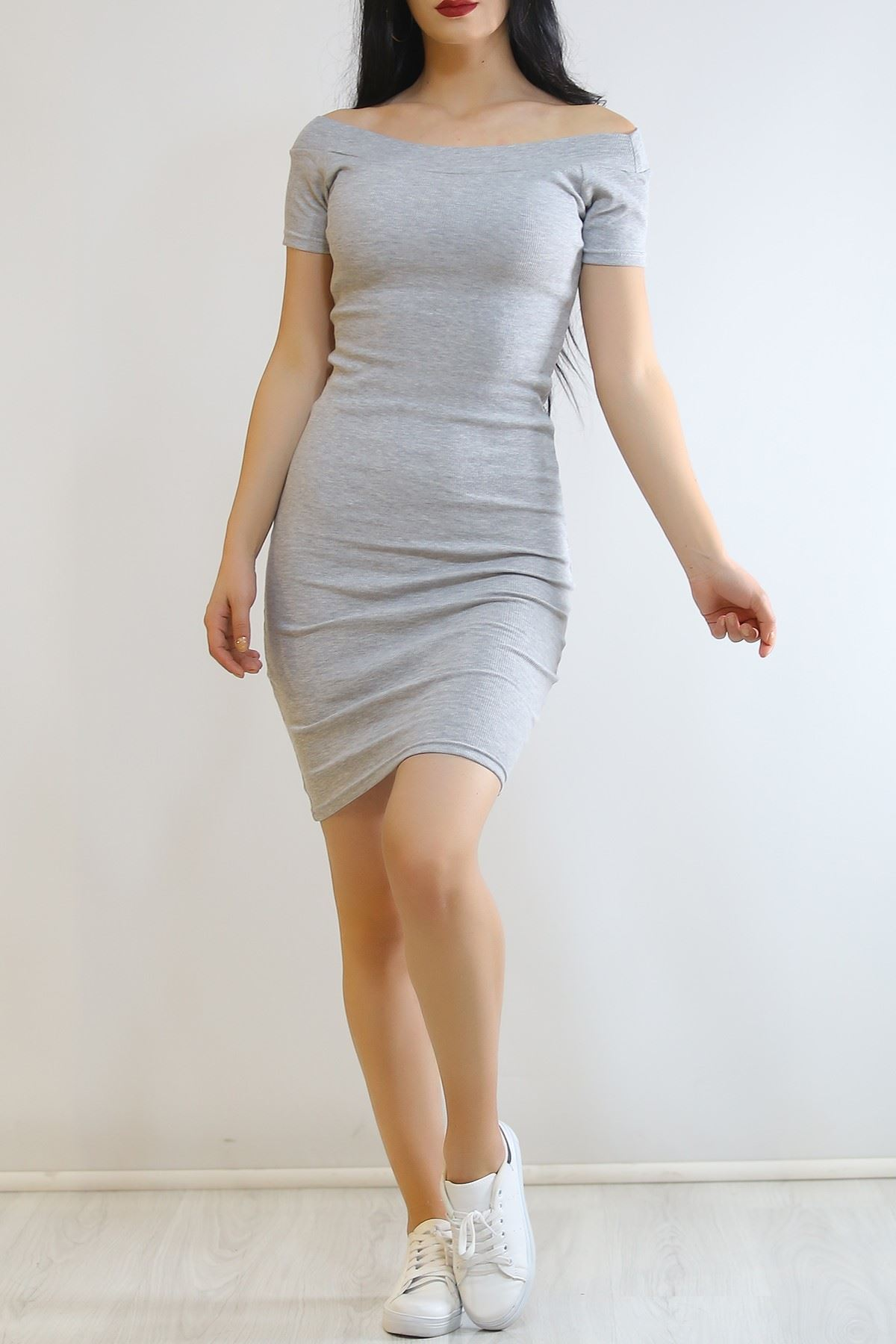 Madonna Elbise Gri - 6401.316.