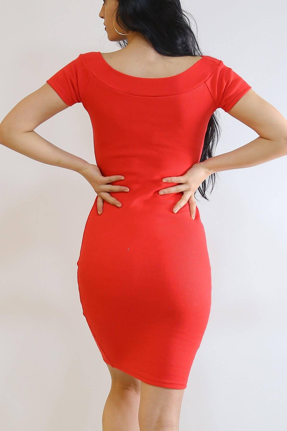 Madonna Elbise Kırmızı - 6401.316.