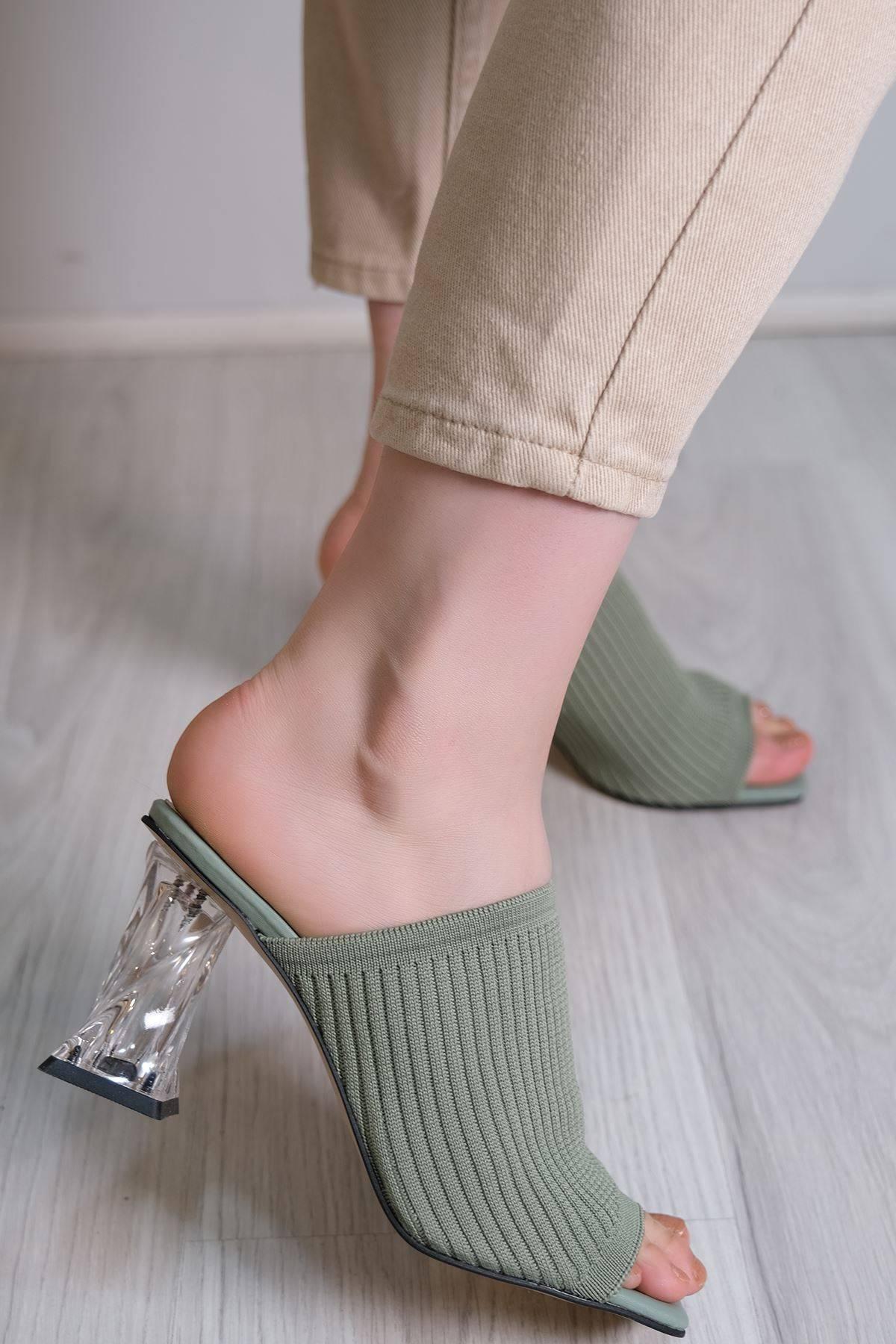 7 Cm Topuklu Ayakkabı Mint - 6087.264.