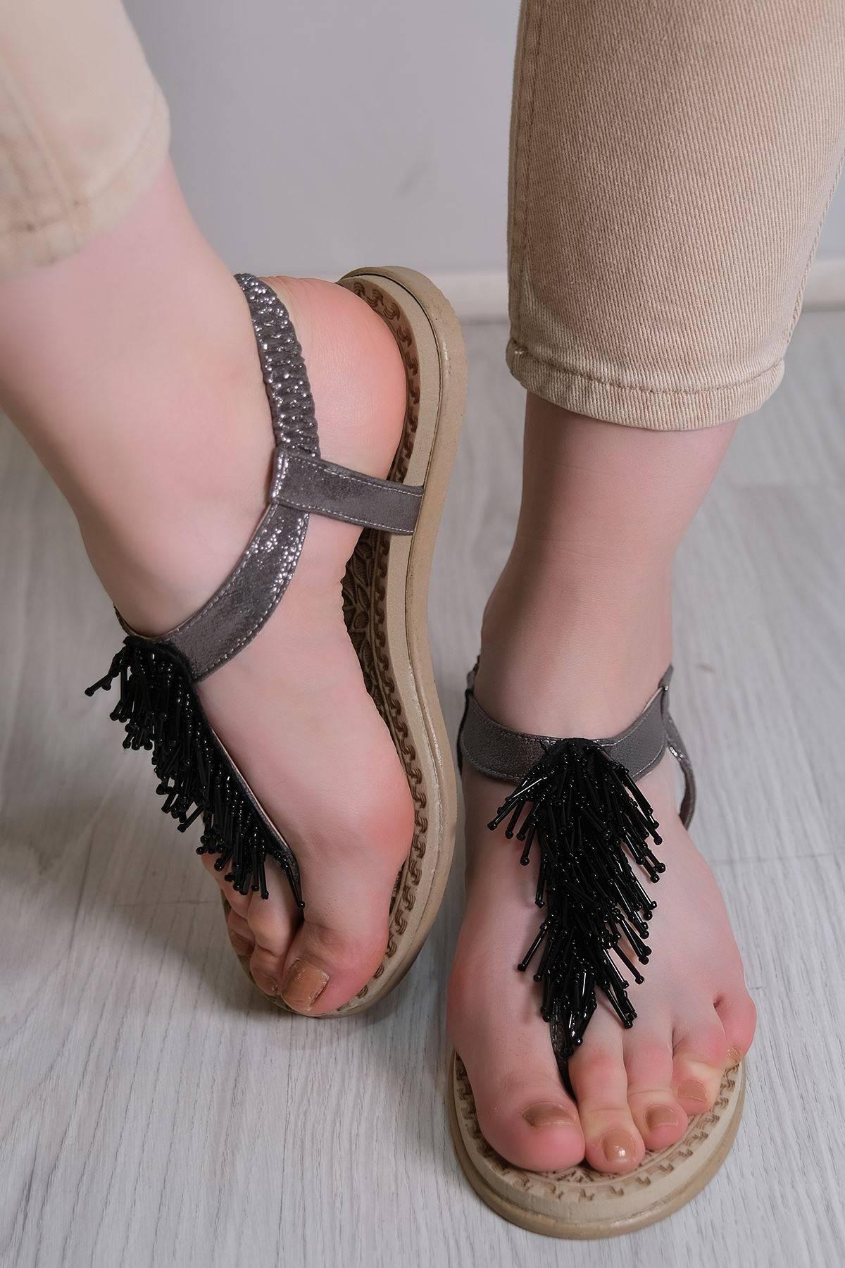 Parmak Arası Sandalet Platin - 6111.264.