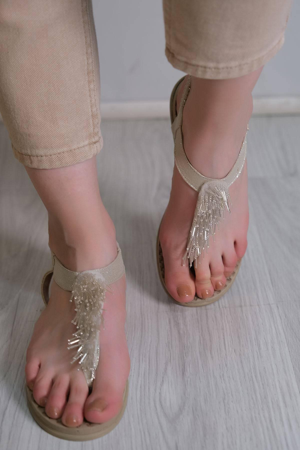 Parmak Arası Sandalet Taş - 6111.264.