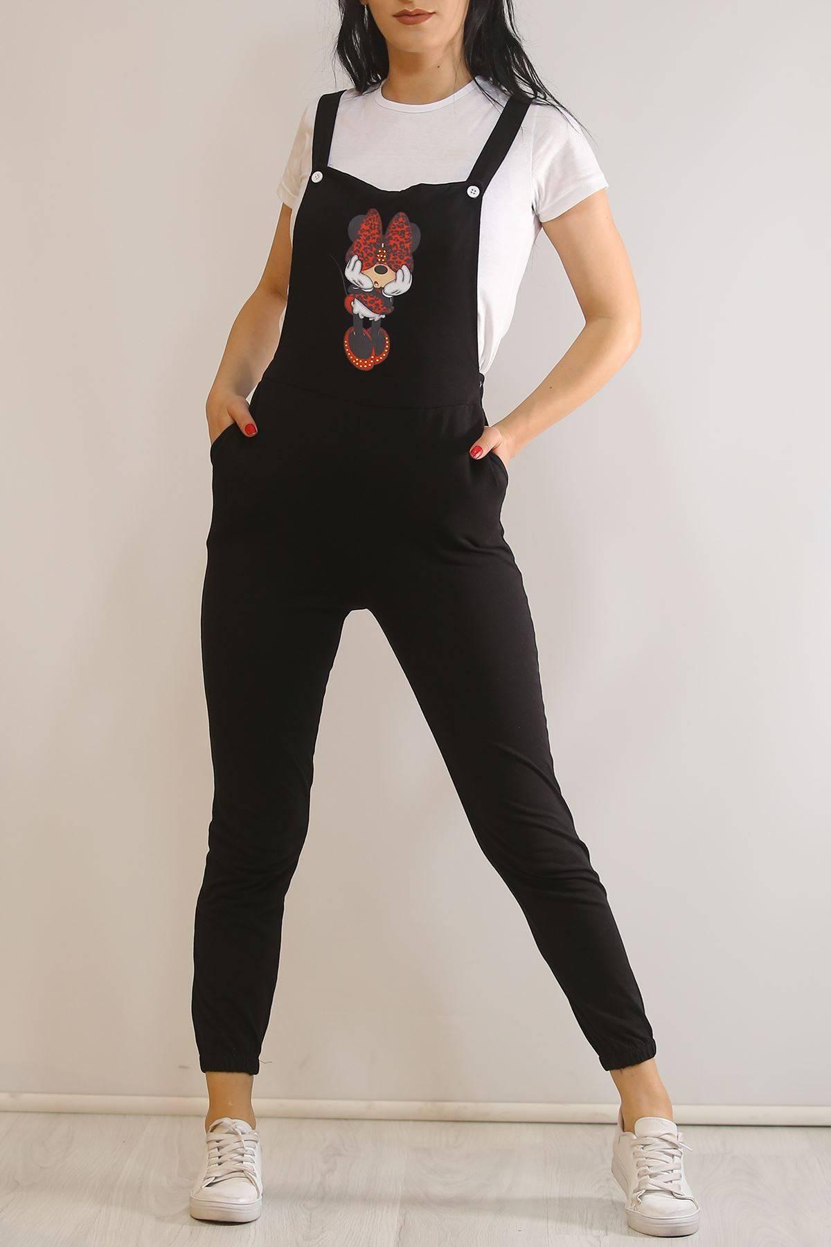 Salopet İkili Takım Siyah - 5993.1059.