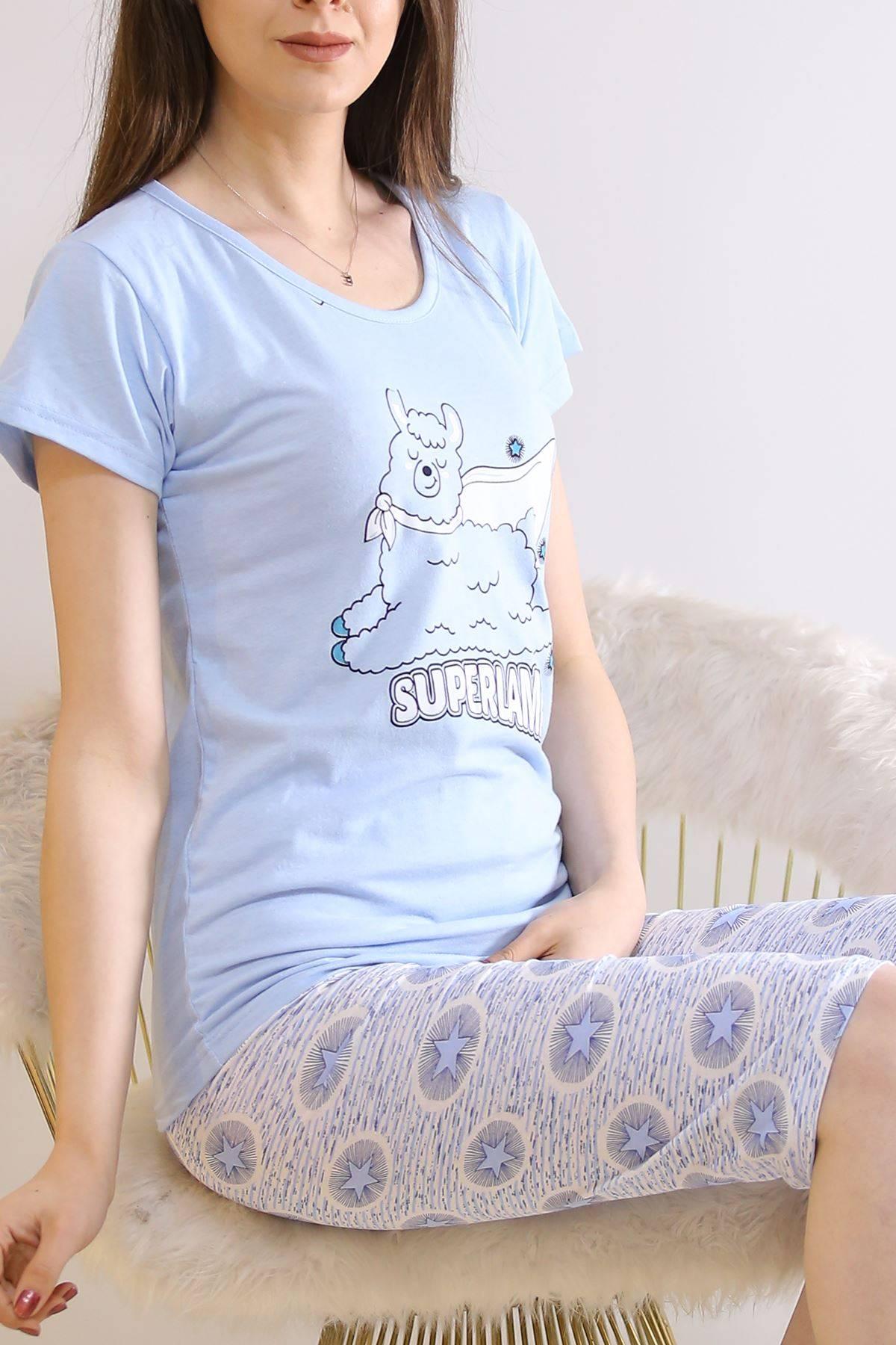 Kapri Pijama Takımı Bebemavi - 6177.1300.