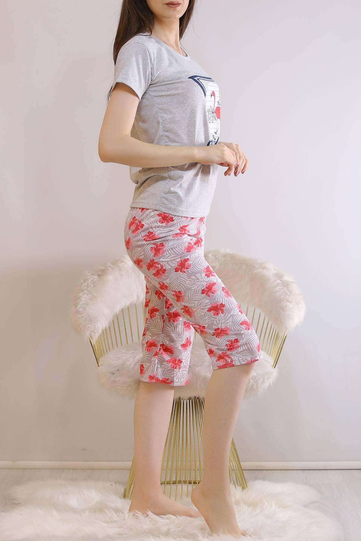Kapri Pijama Takımı Grikırmızı - 6177.1300.