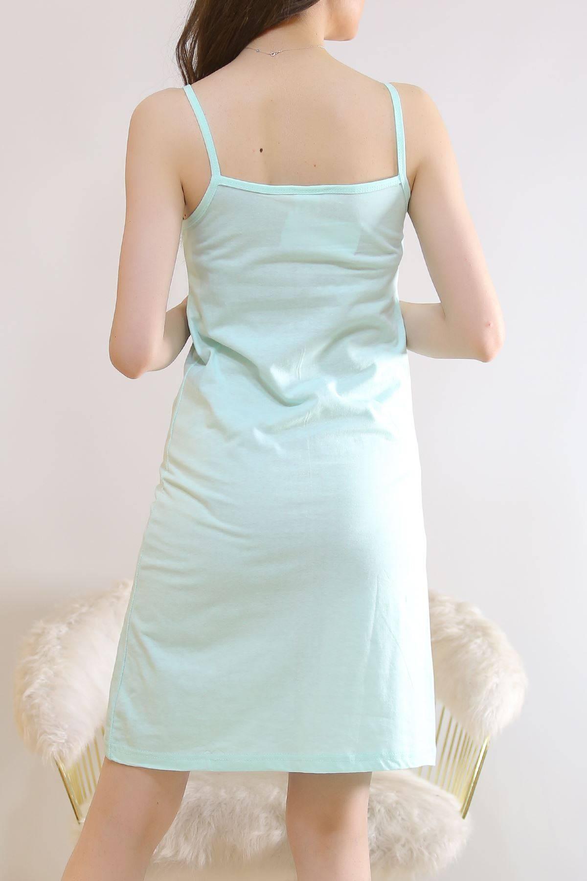 İp Askılı Elbise Mint2 - 5996.1287.
