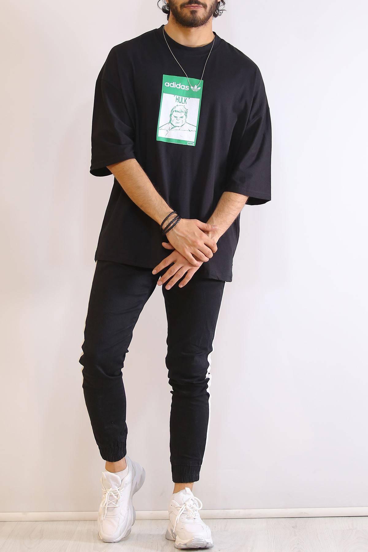Baskılı  Tişört Siyah - 6199.1377.