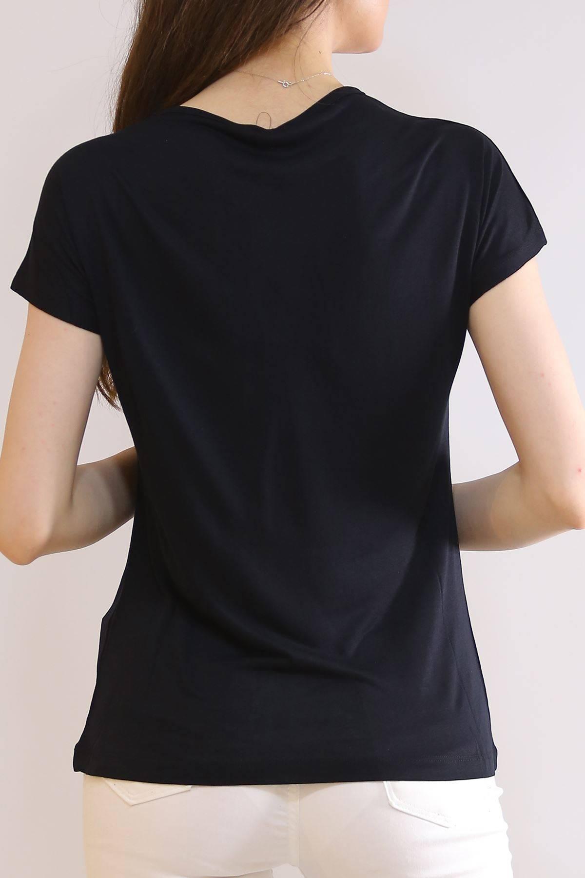 Baskılı Tişört Siyah - 19604.200.