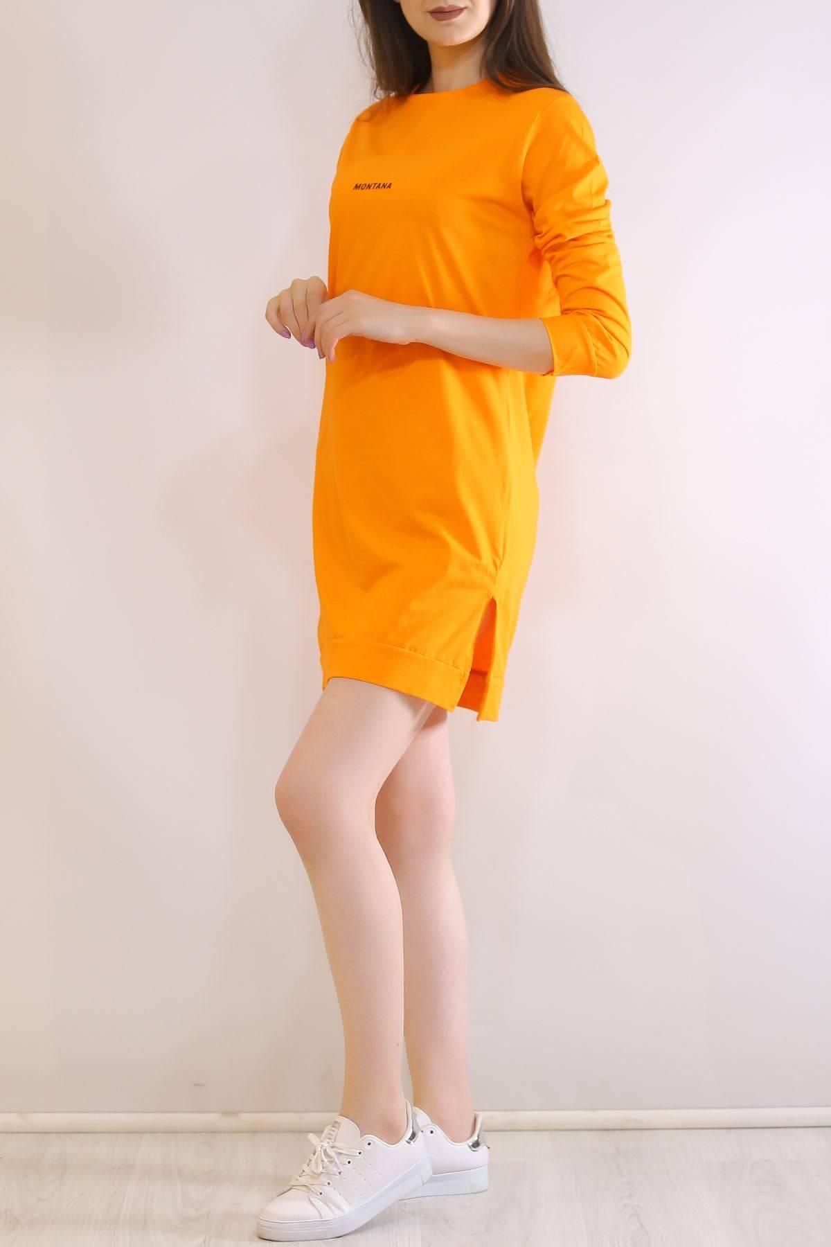 İki İplik Tunik Sweat Oranj - 3152.105.