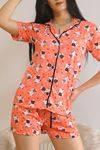 Şortlu Pijama Takımı Yavruağzı - 5979.102.